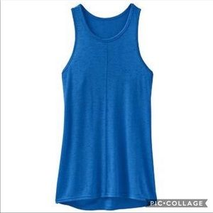 Athleta Royal Blue Twilly Tank Sz L
